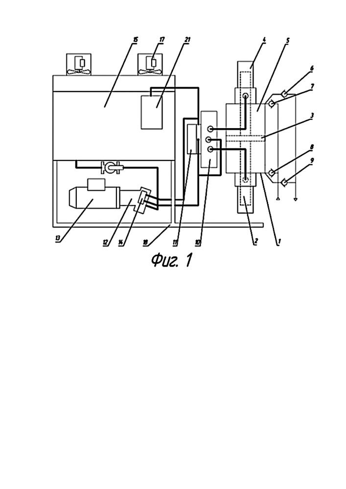 Гидроприводной компрессор