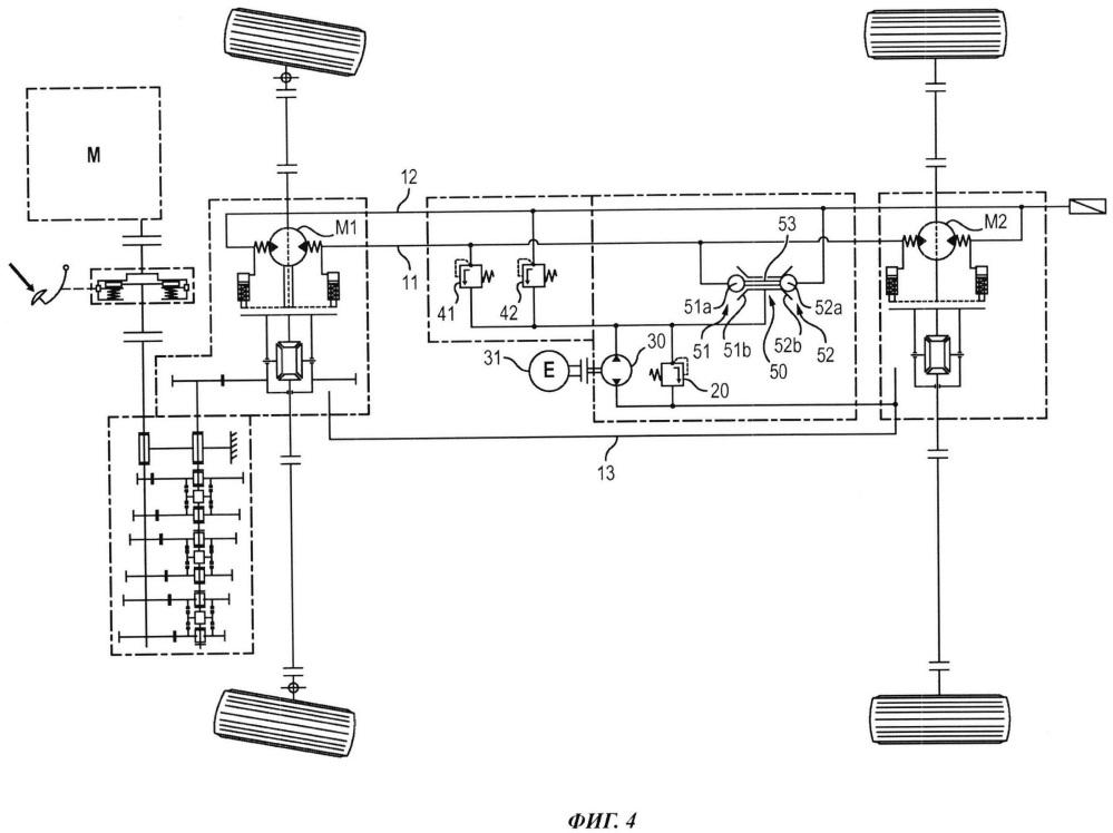 Устройство гидроусиления транспортного средства и способ сброса давления в таком устройстве