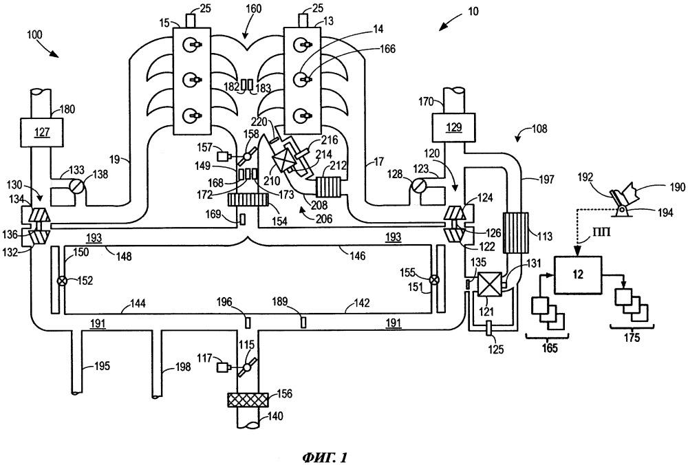 Способ (варианты) и система диагностики датчика содержания кислорода в приточном воздухе по давлению