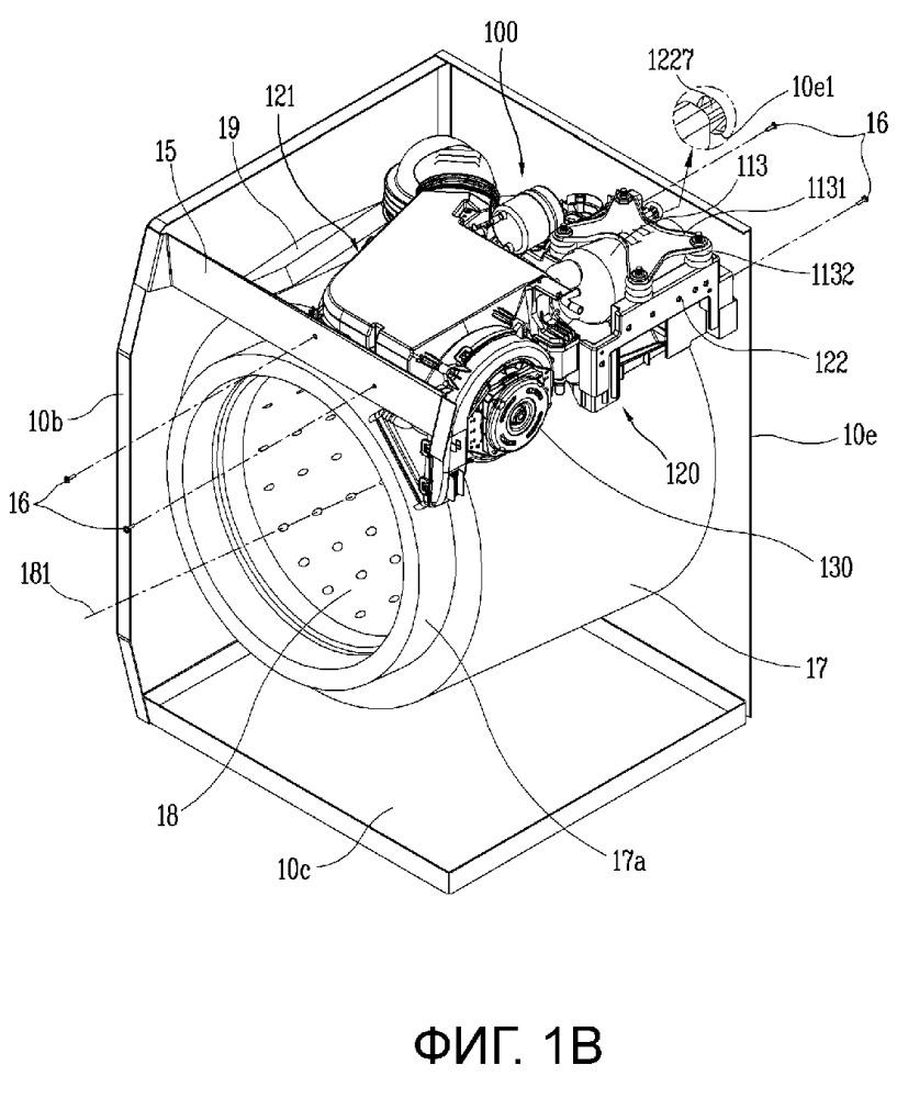Устройство для обработки одежды, содержащее модуль теплового насоса