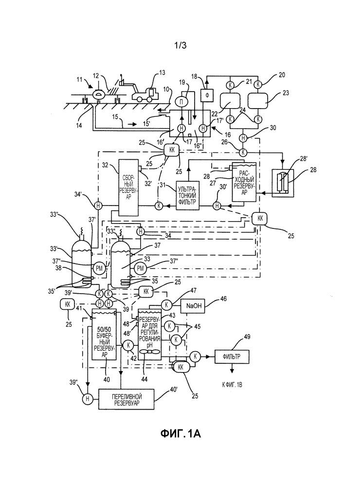 Способ и система для переработки для повторного применения отработавшего этиленгликоля из регенерированных противообледенительных растворов для самолетов