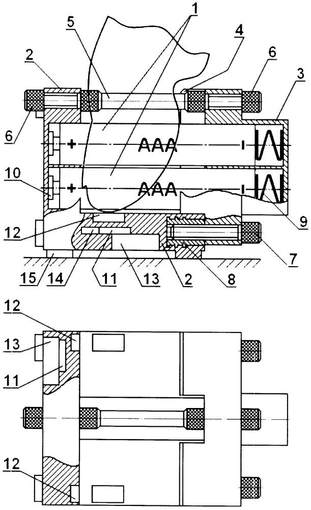 Указательное устройство мышь со спаренными модулями