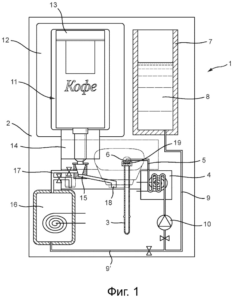 Система нагрева и вспенивания напитка, устройство для нагрева и вспенивания напитка, пригодное для использования в такой системе, трубка для вспенивания, пригодная для использования в такой системе, и способ приготовления напитка с использованием такой системы