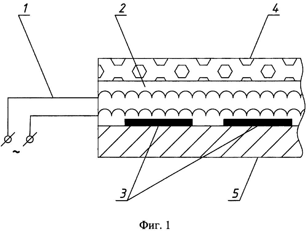 Устройство для электрообогрева цистерны с мазутом