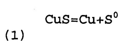 Способ восстановления меди из сульфидных соединений