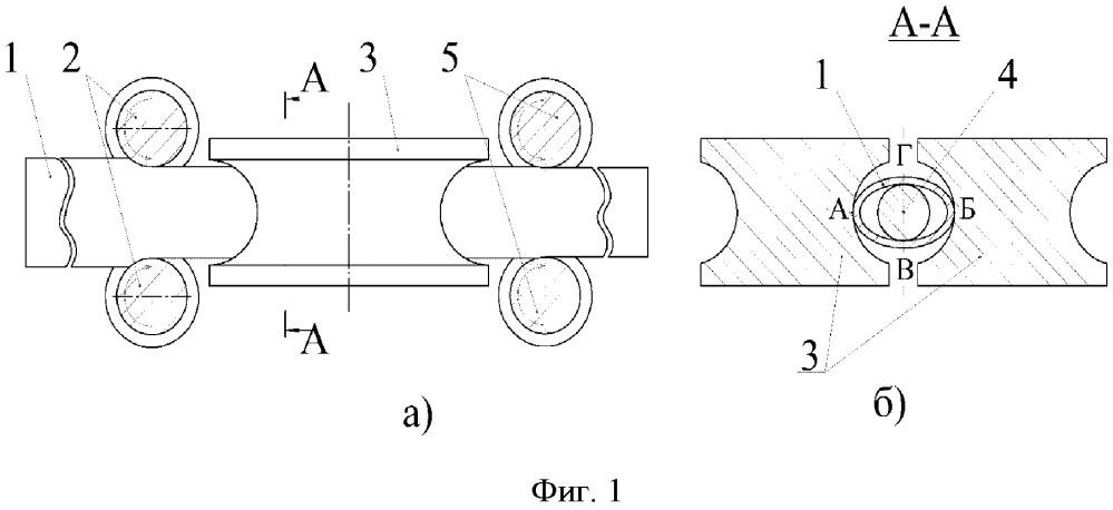 Способ продольной прокатки труб с натяжением
