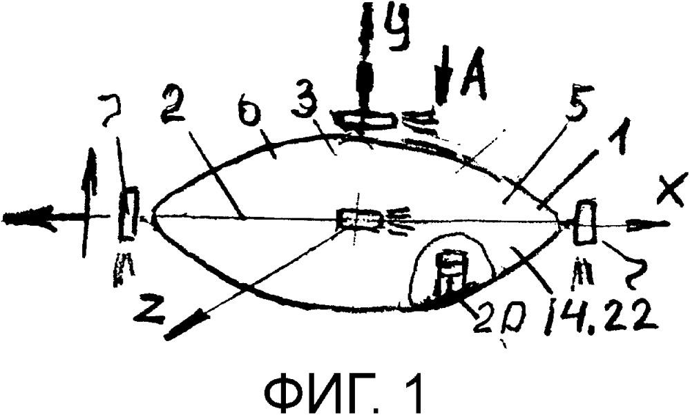 Устройство системы дас для передвижения по воздушной и водной поверхности