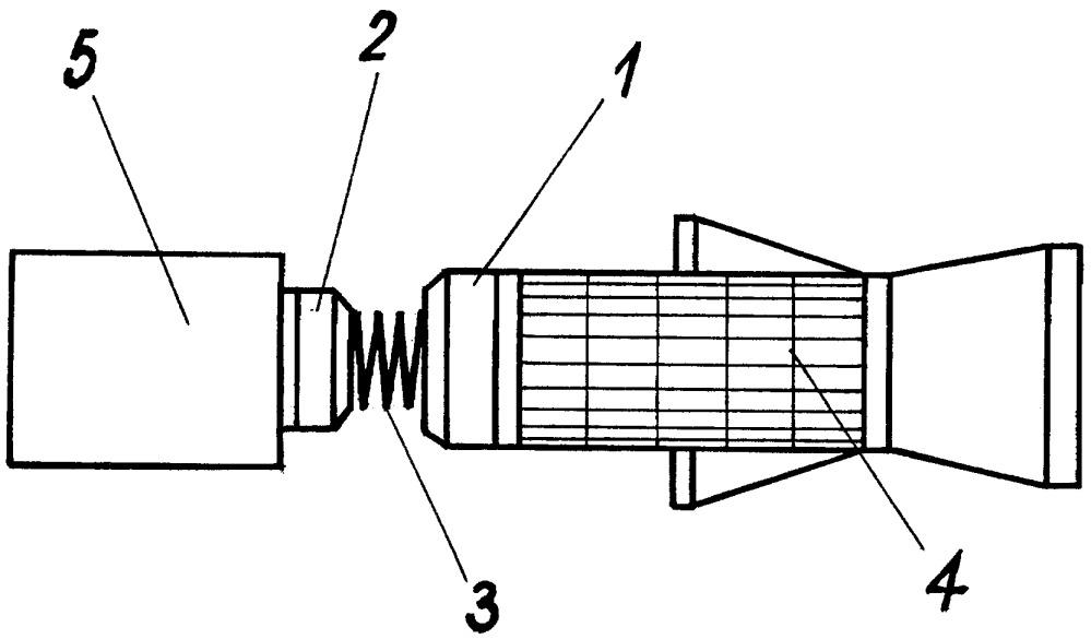 Космическое буксирное устройство