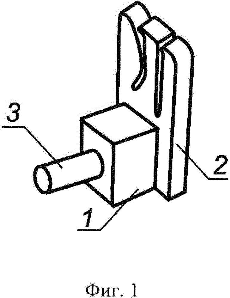 Фиксатор стоматологических полосок,используемых при реставрации и исправлении дефектов зубов
