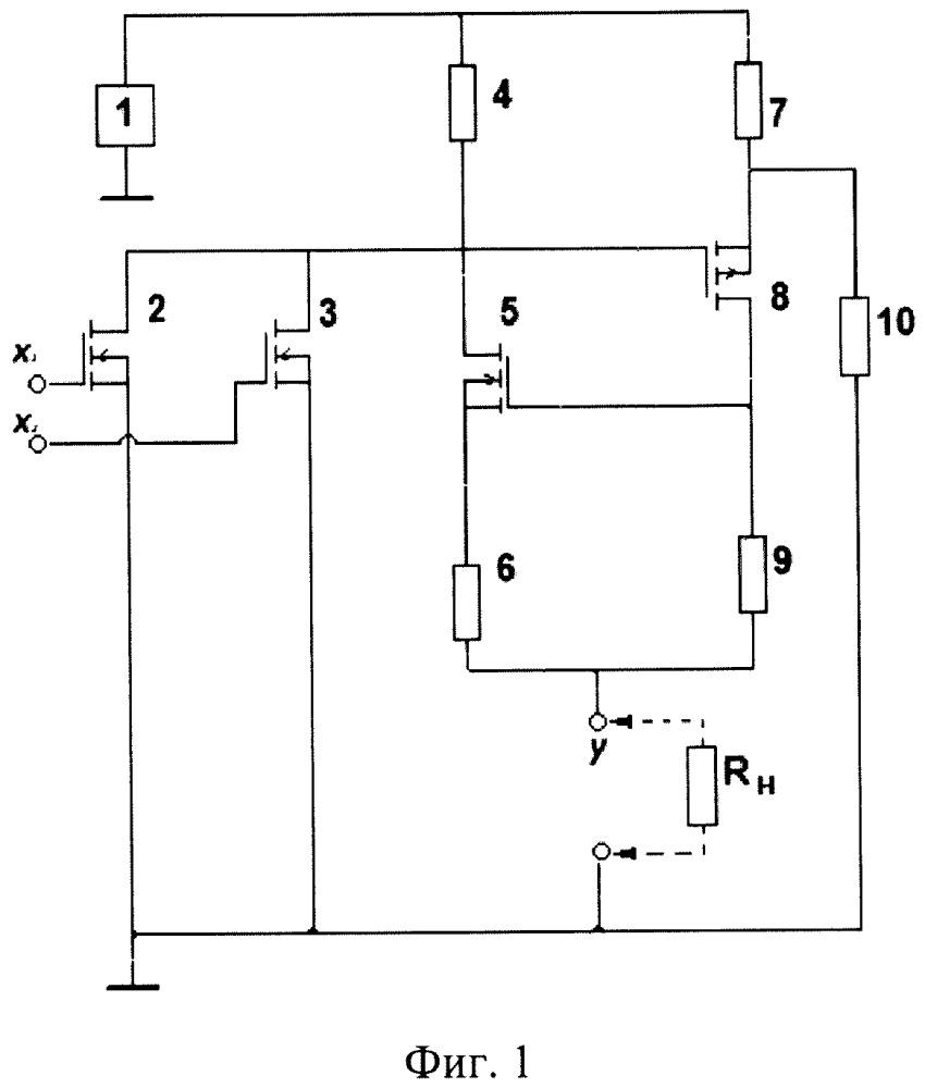 Триггерный логический элемент или на полевых транзисторах