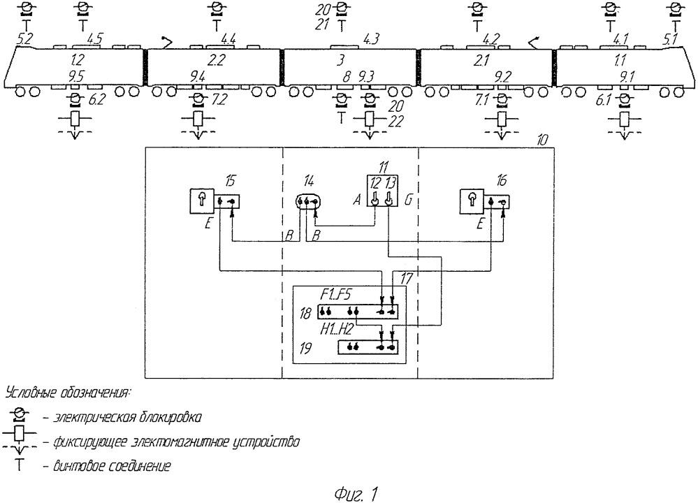 Система безопасности высоковольтного электрооборудования электропоезда