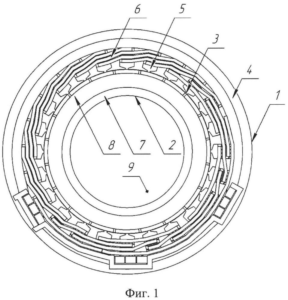 Электромеханический преобразователь с жидкостным охлаждением и электронным управлением