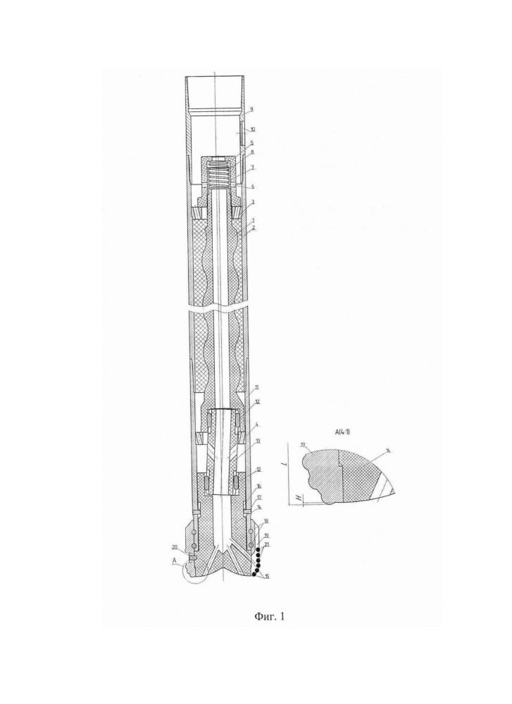 Разбуриваемый башмак с силовым приводом для оборудования низа обсадной колонны