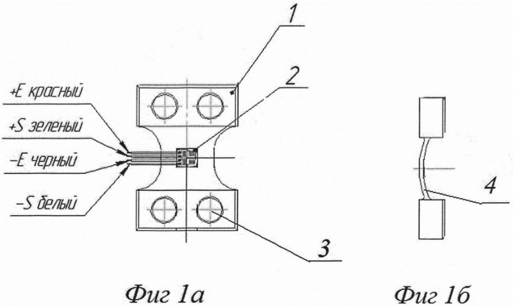 Тензометрический датчик измерения нагрузки на ось грузового транспортного средства и система для измерения нагрузки на ось грузового транспортного средства