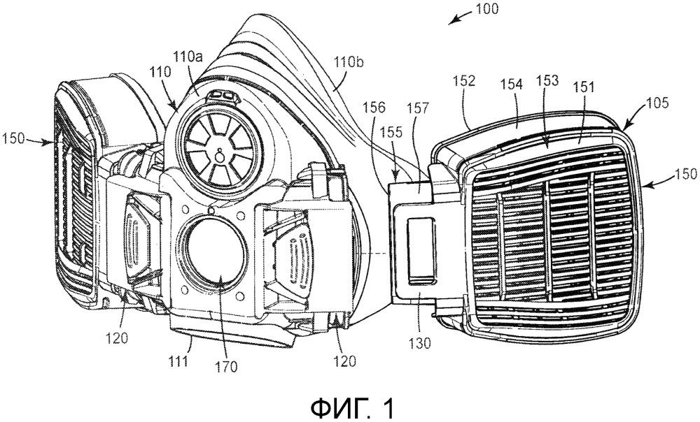 Многокамерный респиратор, содержащий уплотнительные устройства (варианты), и способы уплотнения