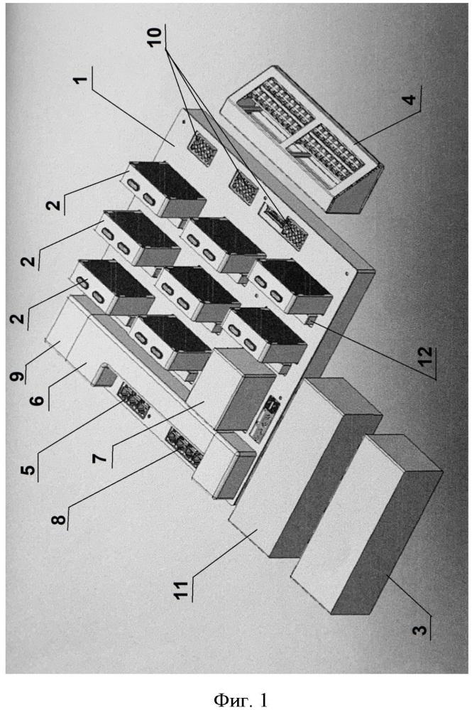 Способ комплексного управления электрическими системами с помощью электросетевого компьютера