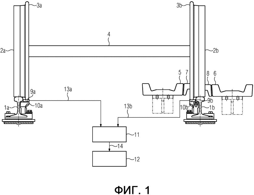 Устройство управления балочным вагонным замедлителем