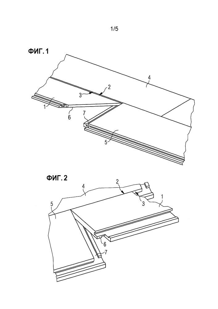 Панель с крюкообразной системой фиксации