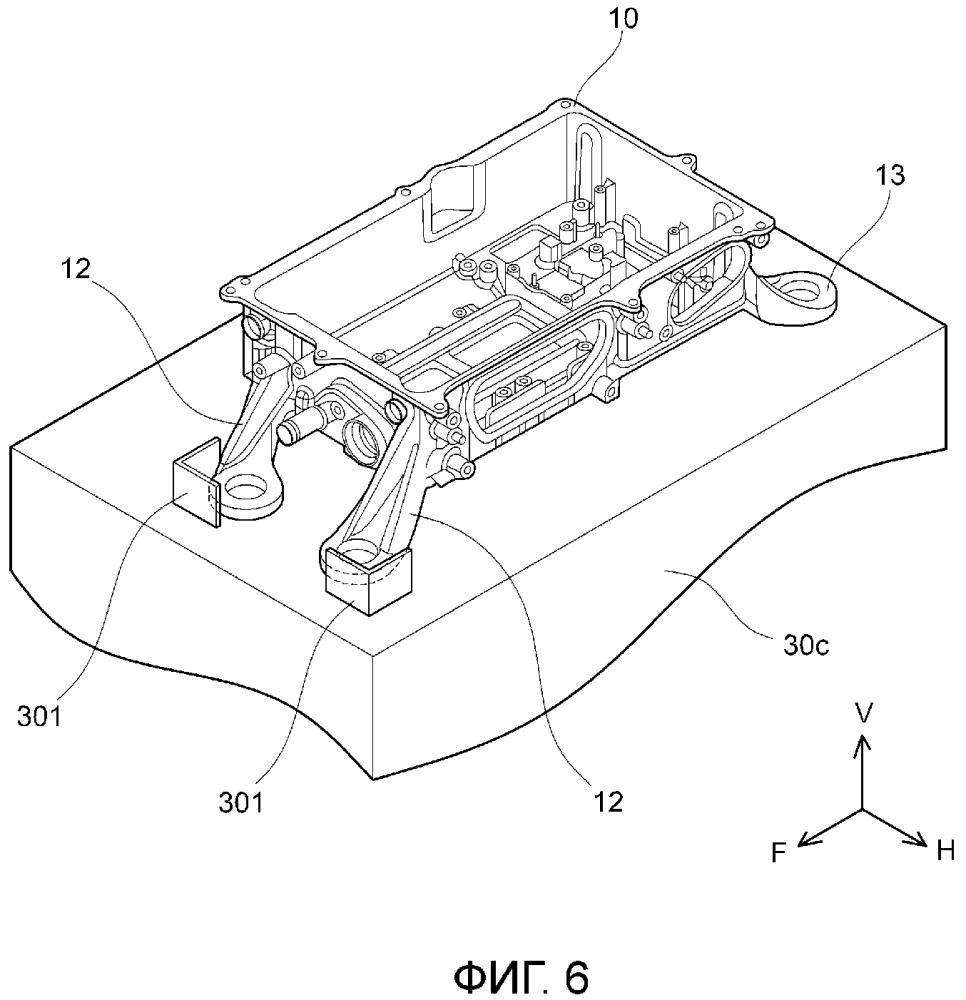 Конструкция для установки преобразователя мощности в транспортном средстве