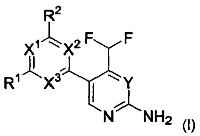 Дифторметиламинопиридины и дифторметиламинопиримидины