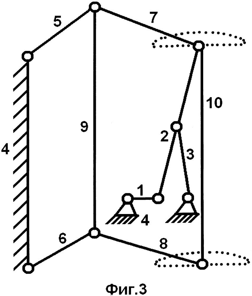 Механизм шагающей машины