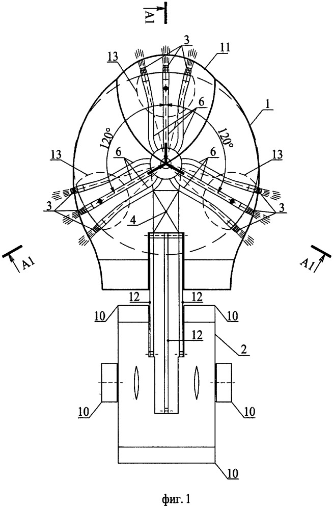 Реактивный летательный аппарат над поверхностью воды с укороченным либо вертикальным взлетом и посадкой