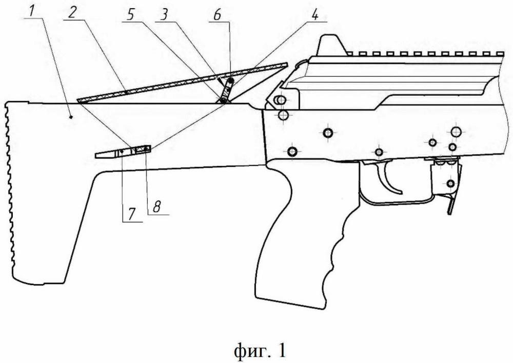 Приклад стрелкового оружия с регулируемой щекой (варианты)