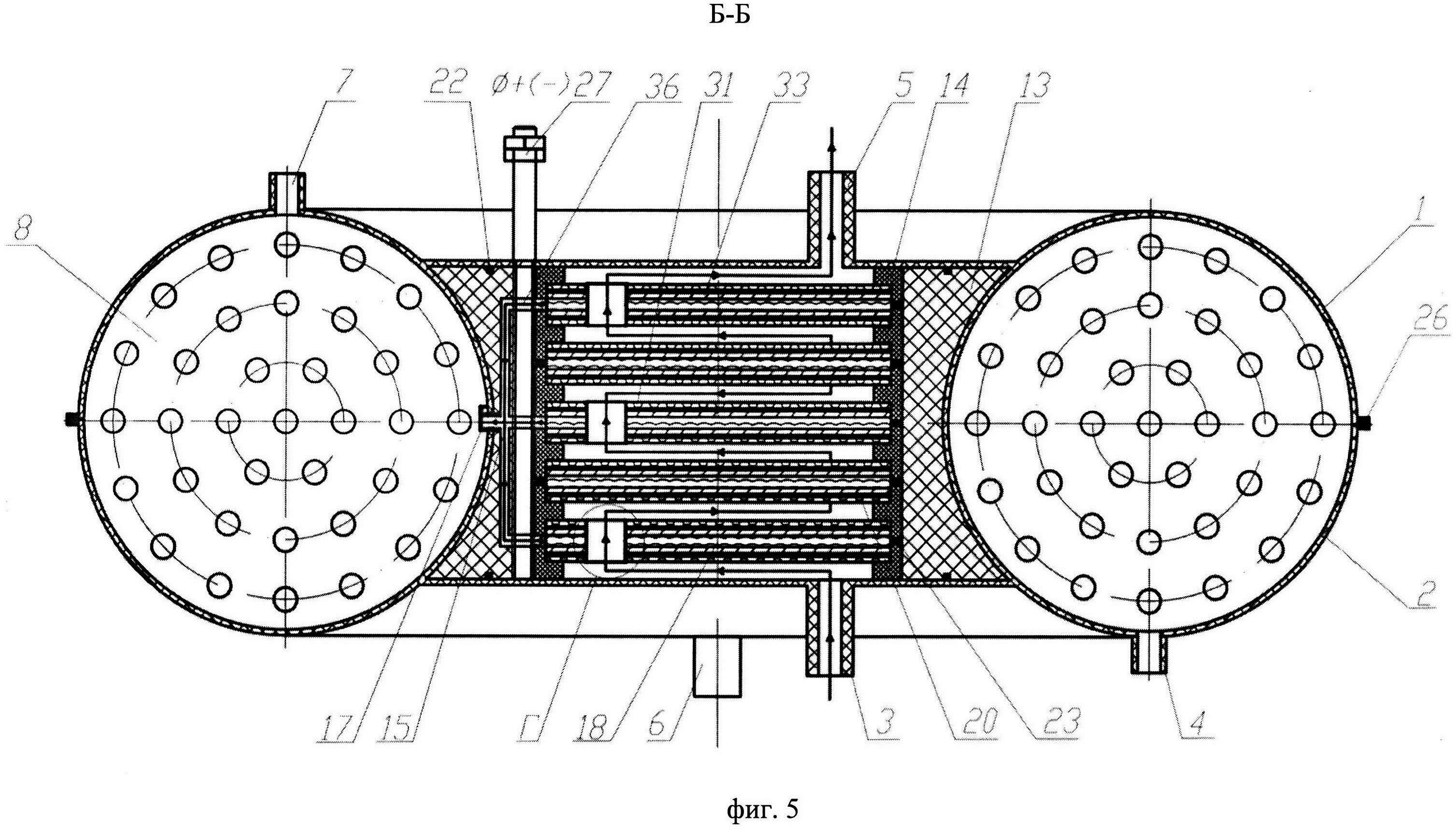 Электробаромембранный аппарат комбинированного типа