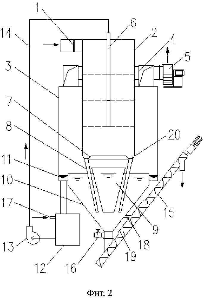 Аппарат для удаления пыли с помощью влаги, имеющий множество механизмов действия, с использованием циркуляции воды и способ удаления пыли
