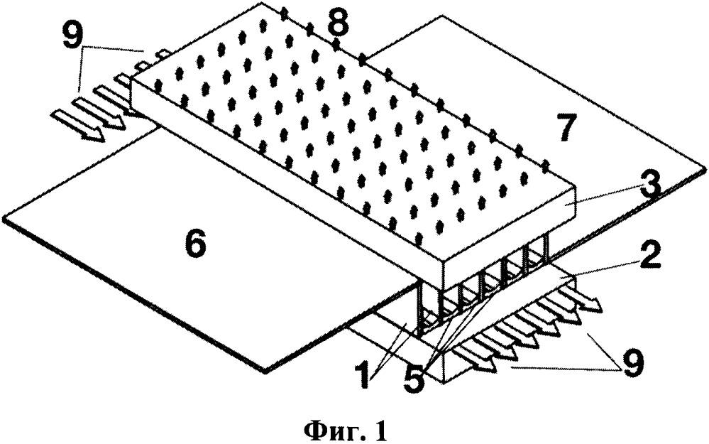 Способ создания двумерной матрицы лазерных диодов и двумерная матрица лазерных диодов