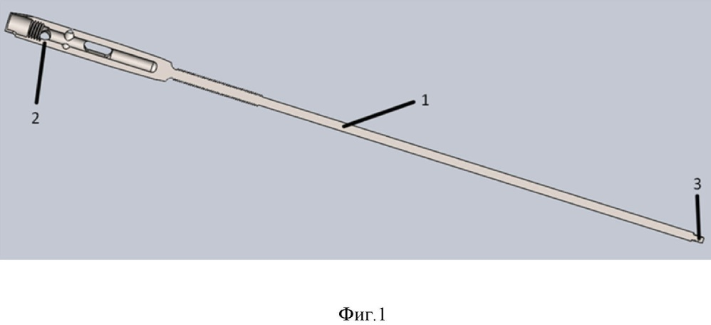 Интрамедуллярный расширяющийся стержень для остеосинтеза трубчатых костей