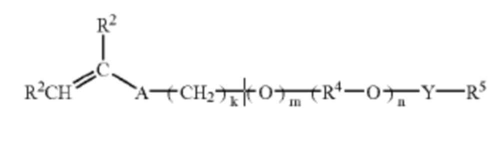 Внутренний полимерный разжижитель для вязкоупругих текучих сред на основе пав