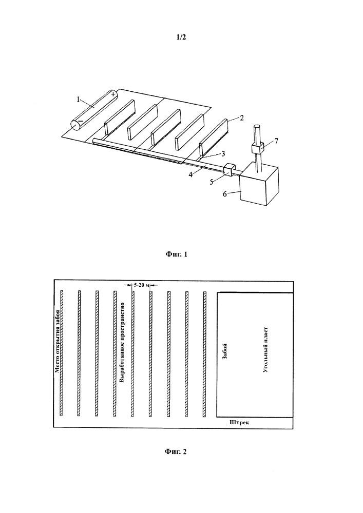 Система для регулирования миграции элементов тяжелых металлов в материале для закладки выработанного пространства на основе принципов электрофореза