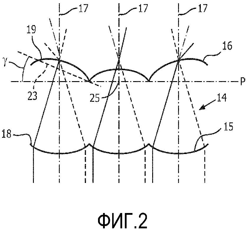 Устройство для формирования оптического пучка и использующий его источник точечного света