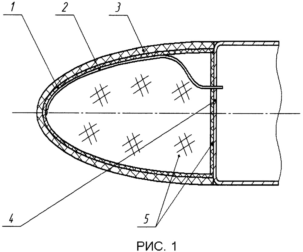 Конформная спиральная антенна