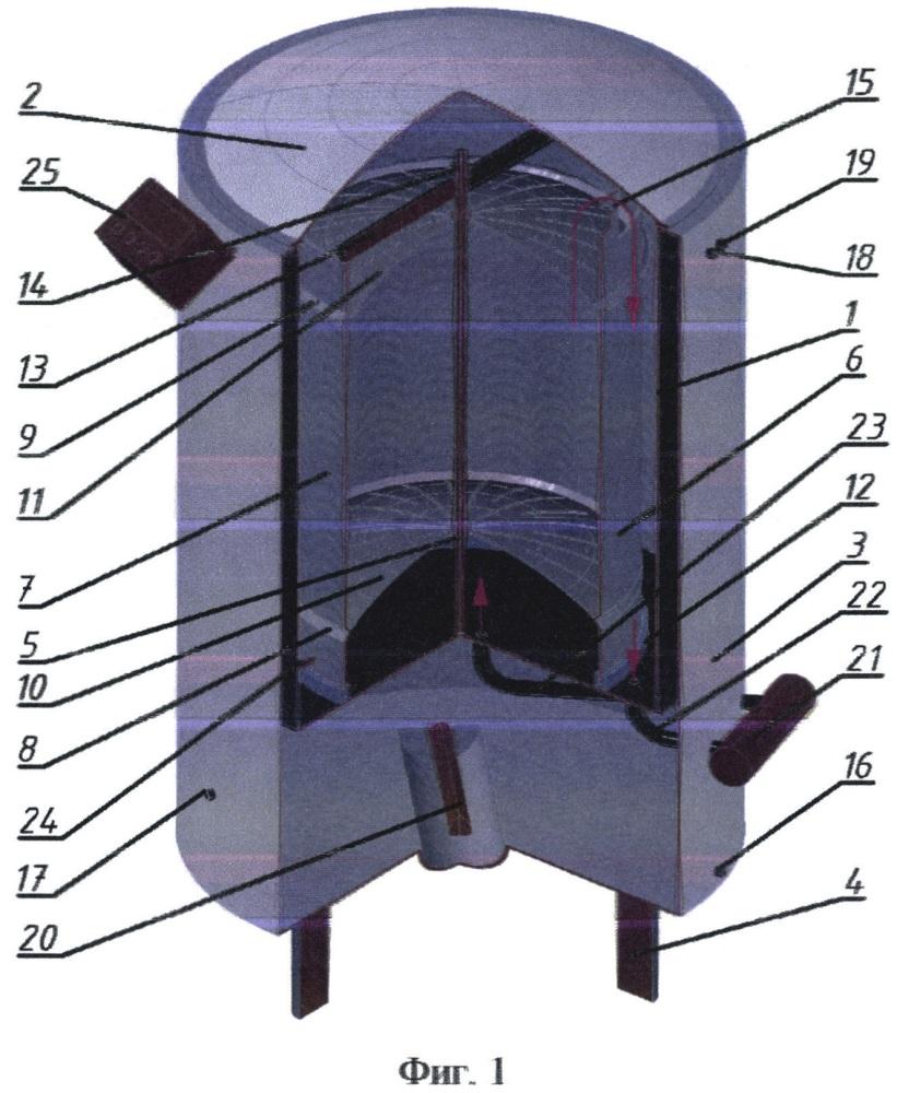 Заторно-сусловарочно-фильтрационный аппарат