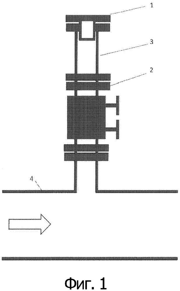 Определение присутствия жидкости в газовых трубопроводах высокого давления