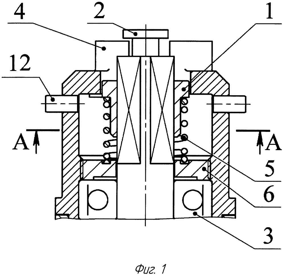 Механизм блокировки редуктора