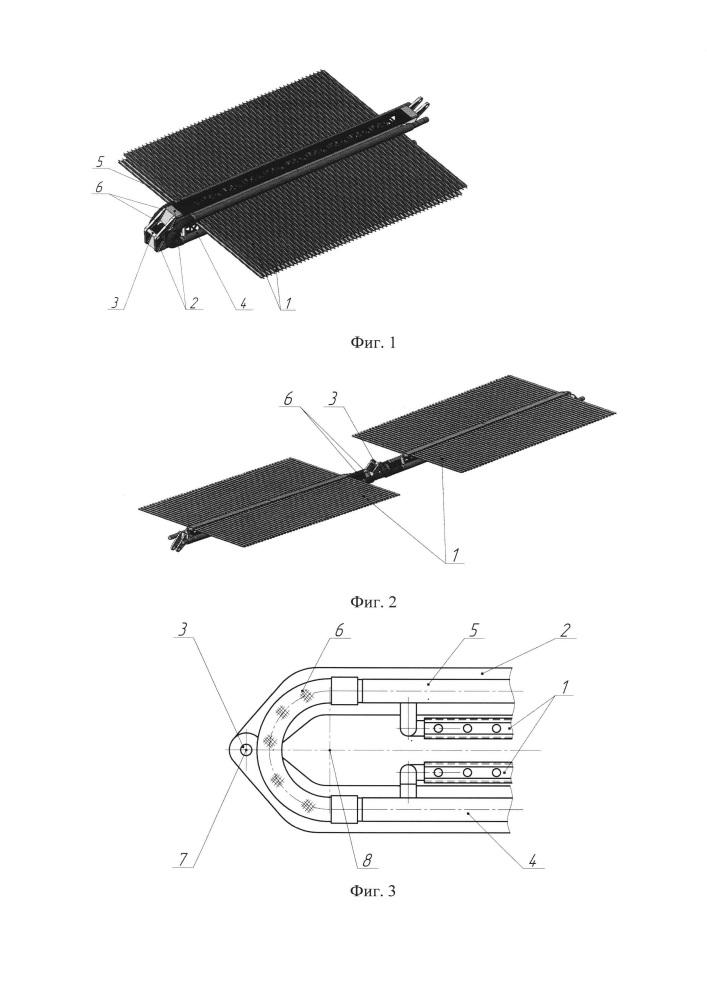 Холодильник-излучатель системы обеспечения теплового режима космического аппарата