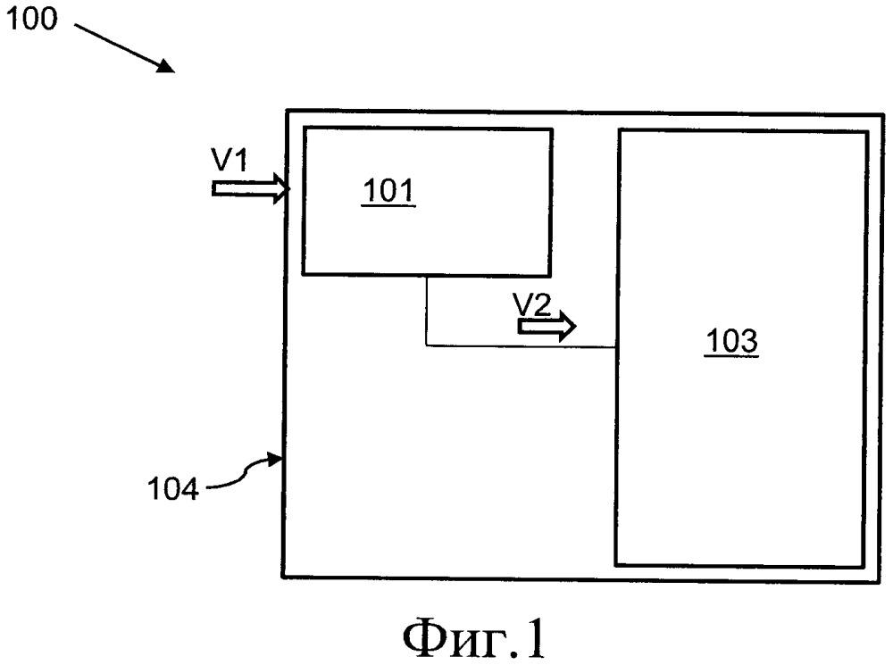 Микроэлектронный модуль, матрица модулей и способ воздействия на поток