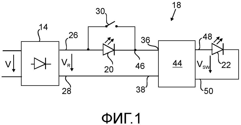 Эффективная схема освещения для светодиодных (led) узлов