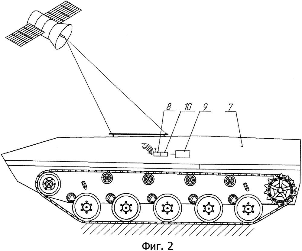 Система дистанционного телеметрического измерения коэффициента сопротивления уводу шин опорных катков гусеничных машин