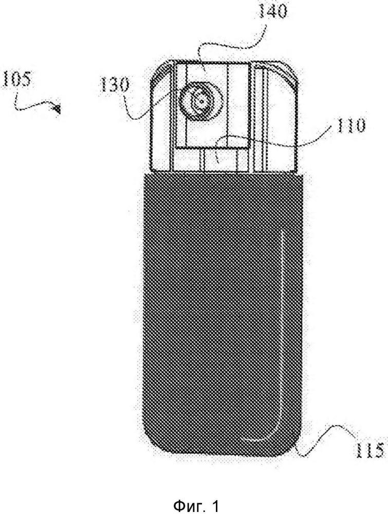 Упаковка с помповым дозатором