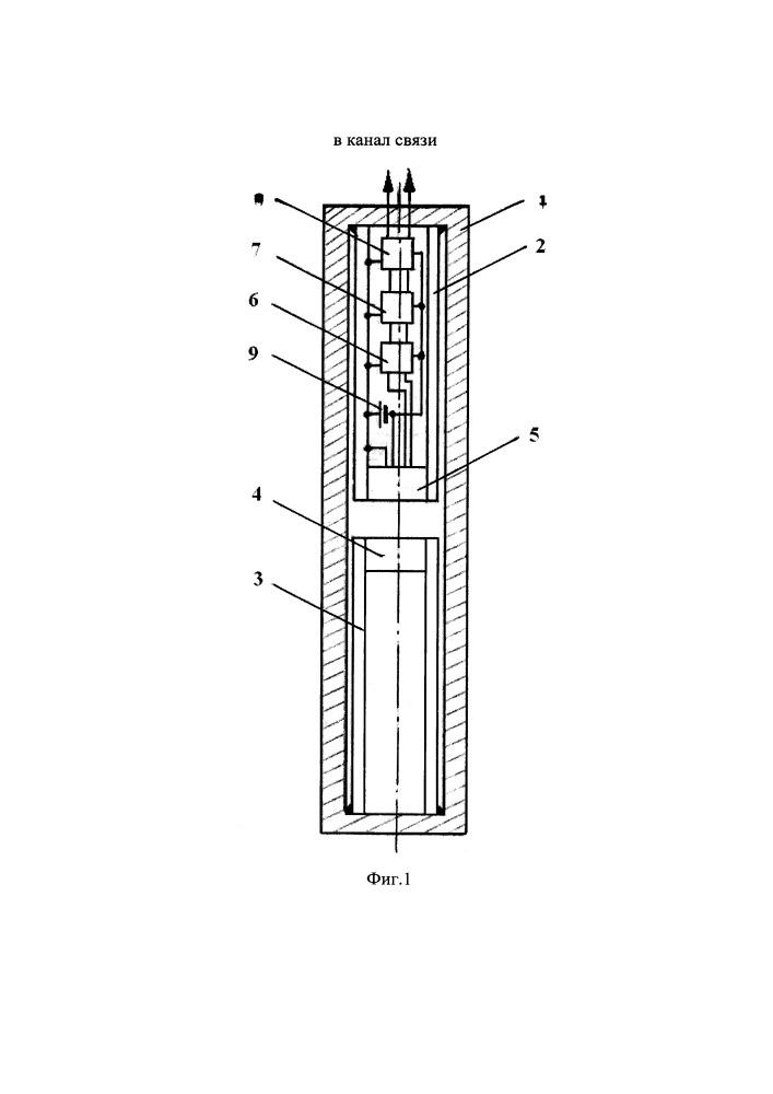 Устройство для измерения температуры в скважине