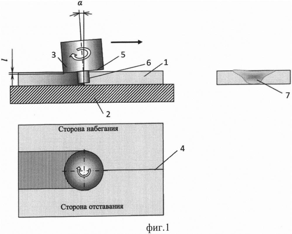 Способ сварки трением с перемешиванием алюминиевых конструкций и инструмент для его осуществления