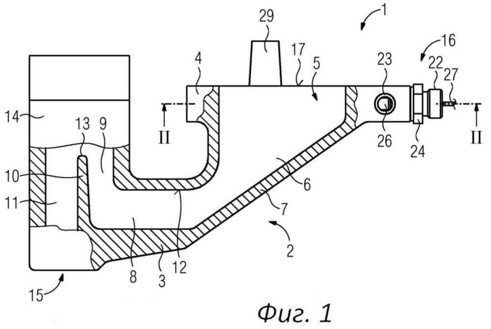 Устройство для разбрасывания песка и рельсовое средство с указанным устройством