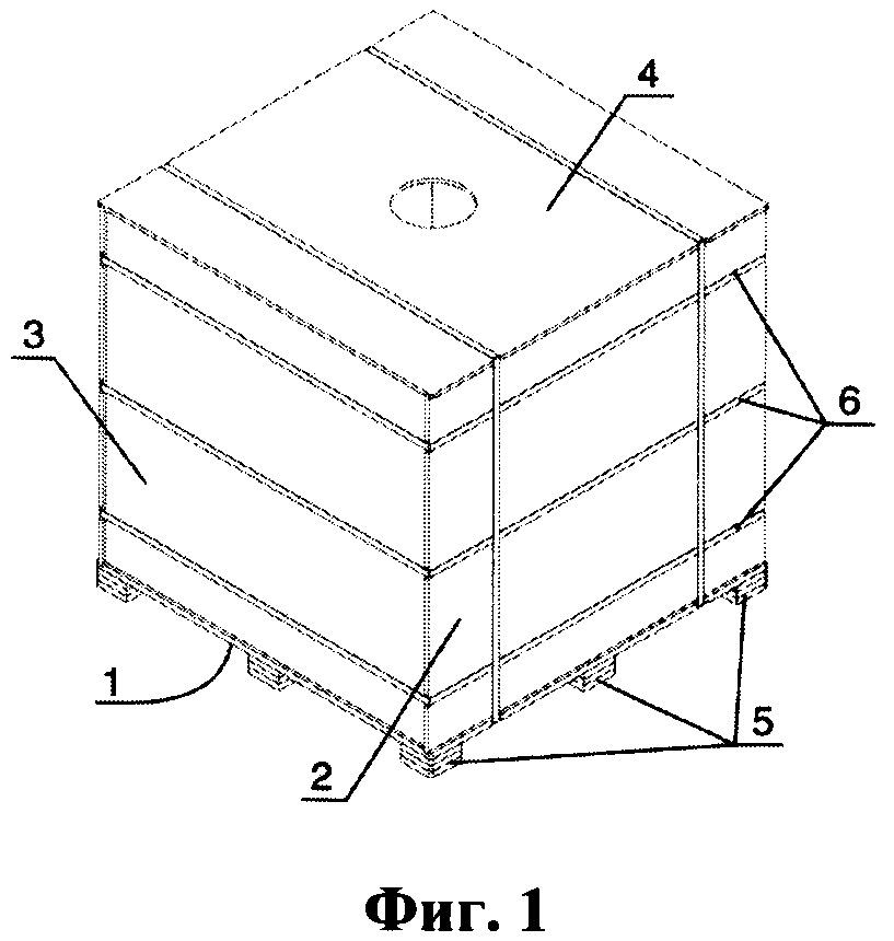Способ изготовления многоразового контейнера и многоразовый контейнер