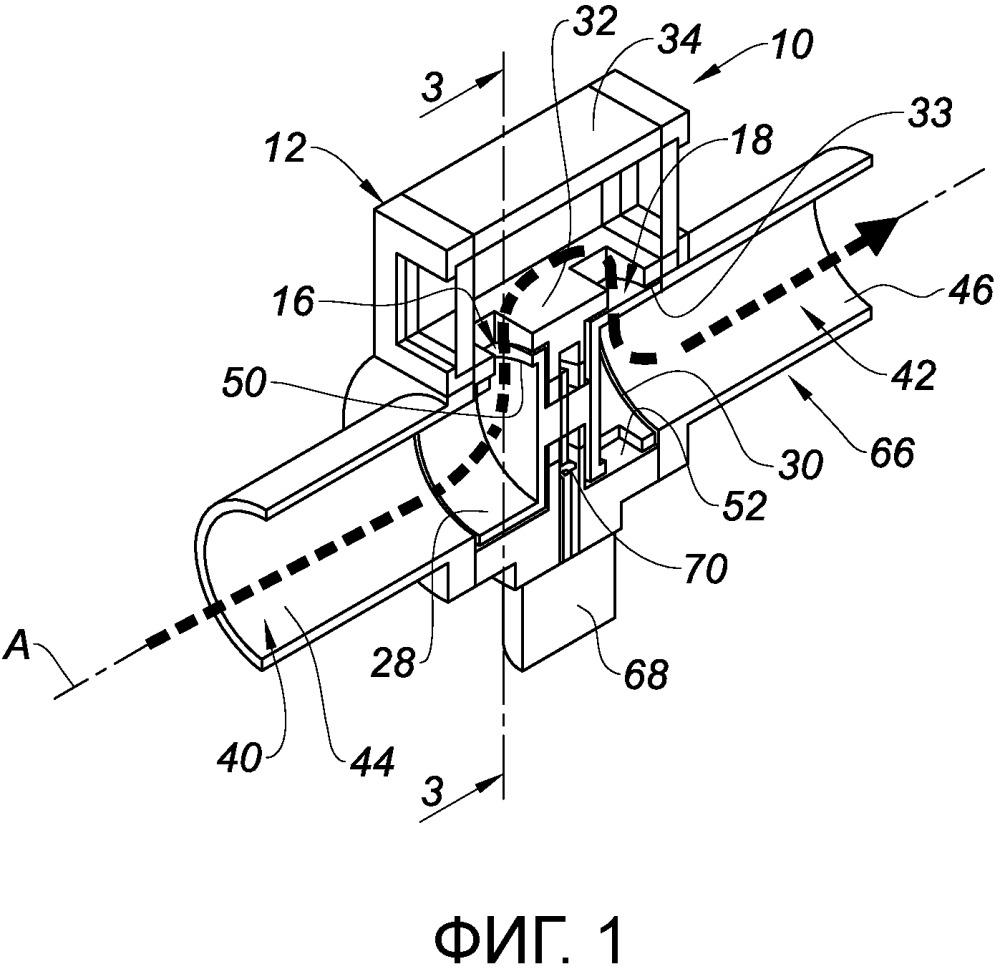 Модуль сгорания при постоянном объеме для газотурбинного двигателя