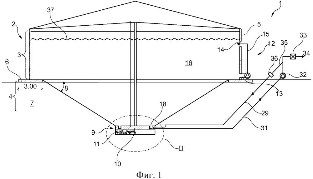 Контейнер и биогазовая установка