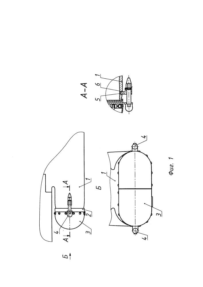 Воздухозаборное устройство со сбрасываемой заглушкой воздушно-реактивного двигателя